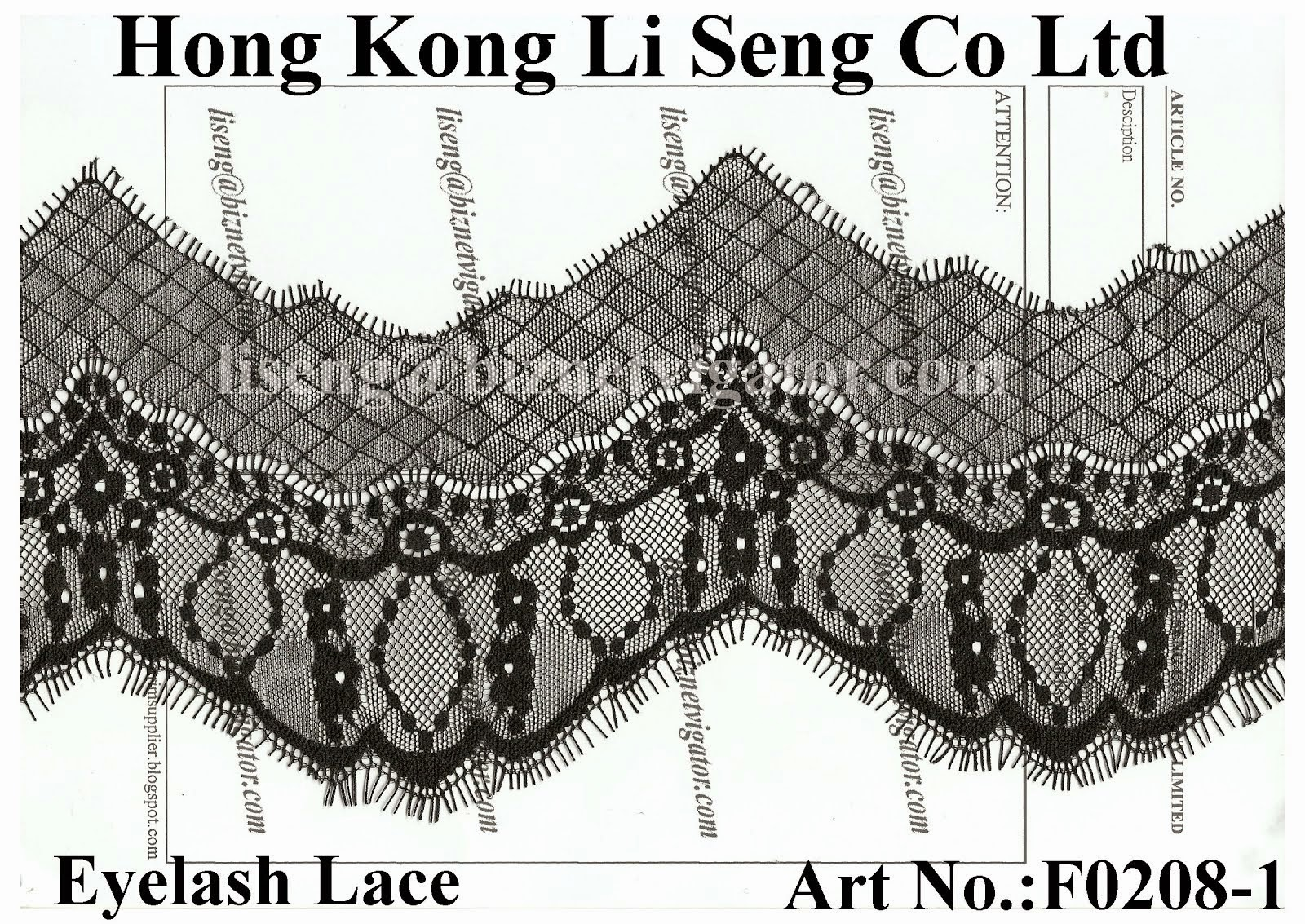 New Lace Trim Pattern