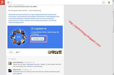 Cara Mudah Menambah Followers Google+