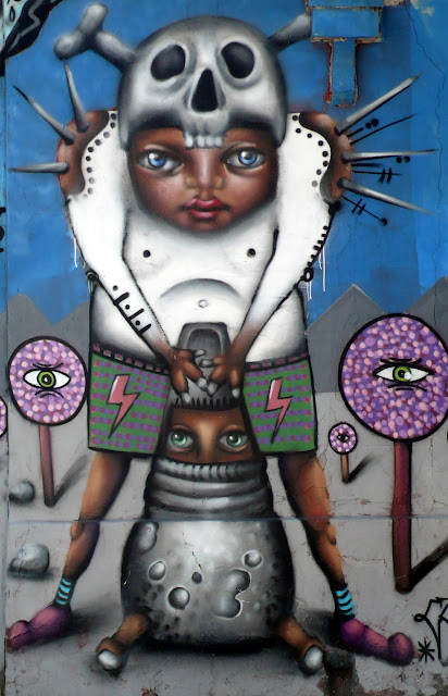 street art santiago de chile barrio yungay arte callejero cubdos