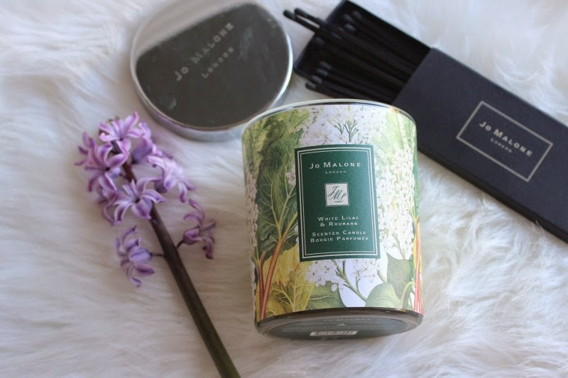 Jo Malone White Lilac and Rhubarb Charity Candle