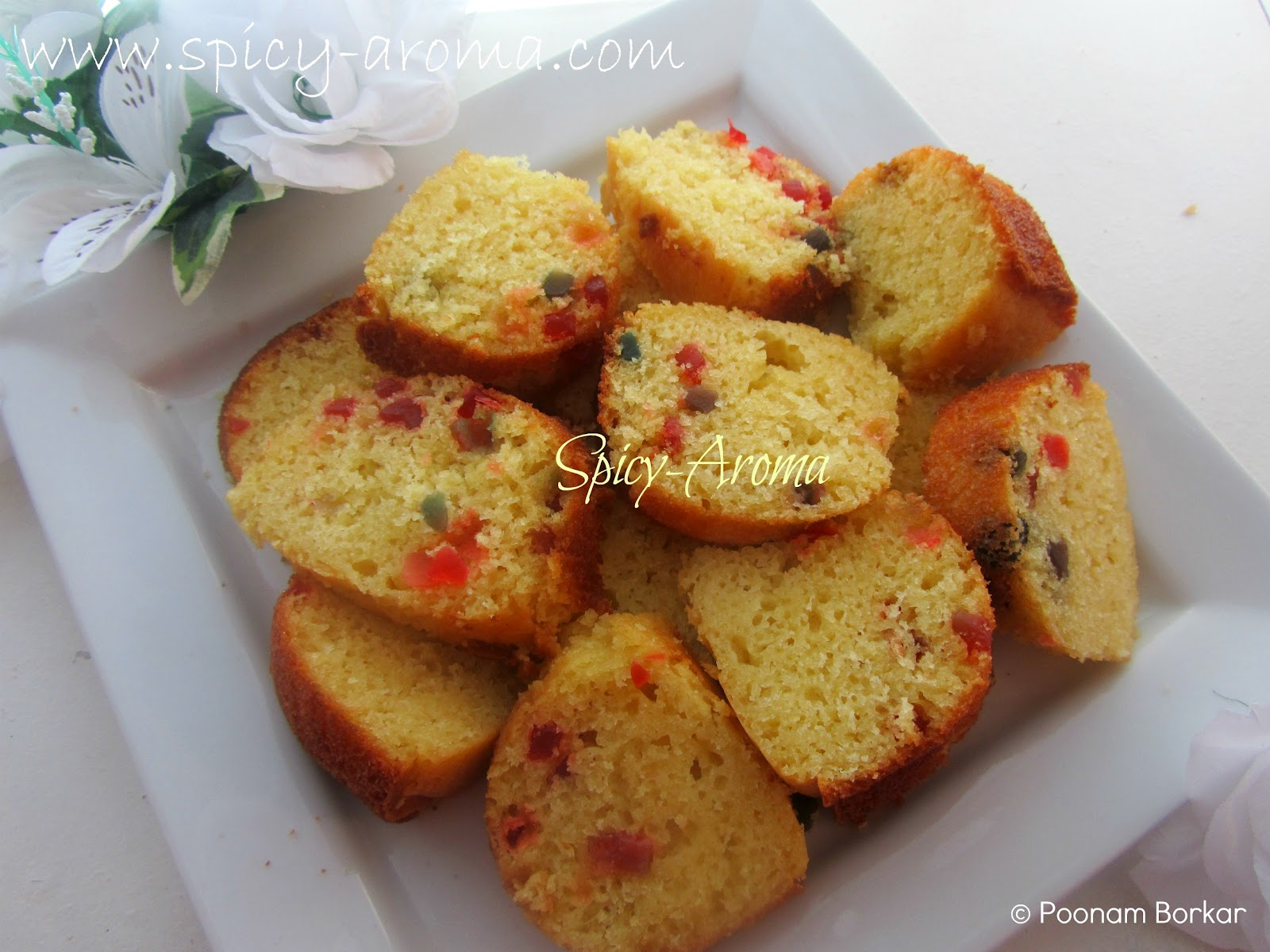 Tutti frutti cake step by step recipe spicy aroma forumfinder Image collections