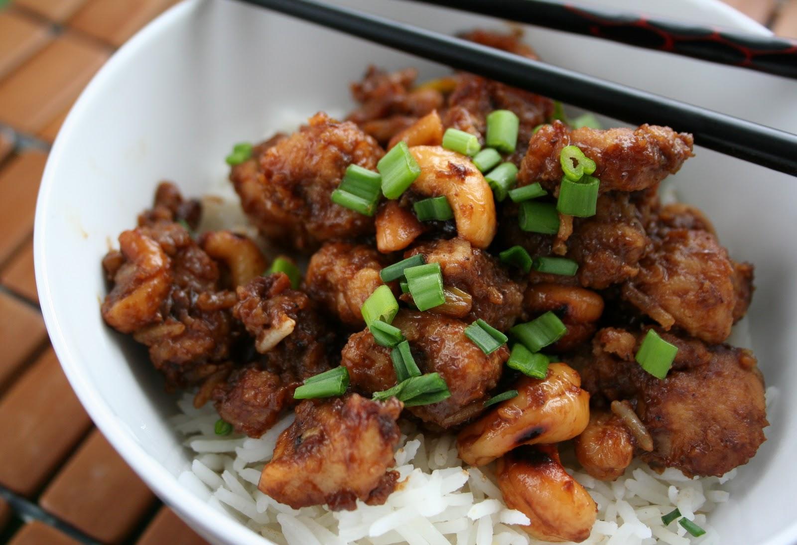 Meal Planning 101: Cashew Chicken