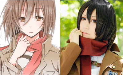 Perfect Mikasa Ackerman Cosplay 04