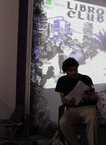 Presentación del libro Reincidencias 40 Feria del Libro del Palacio de Minería Israel Pólux Jiménez