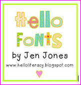 Hello Fonts by Jen Jones