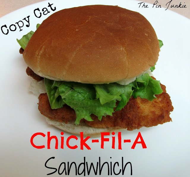 Copy-Cat Chick-Fil-A Chicken Sandwich