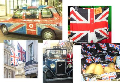 Bandera británica, Londres