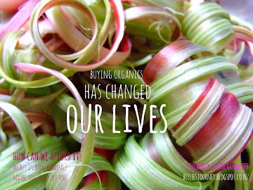 Organics changed our lives..