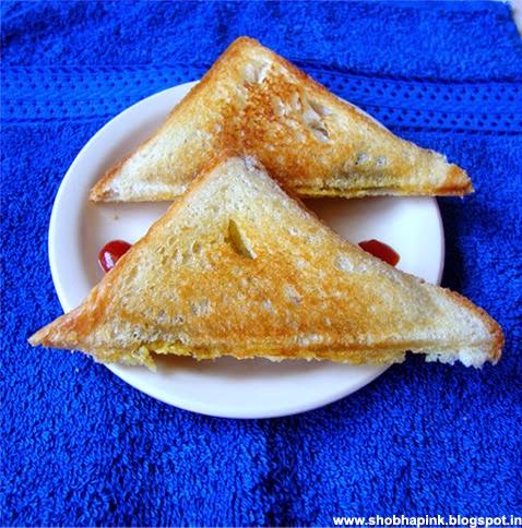 Stuffed Potato Grilled Sandwich