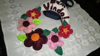 Guirlanda Boas Vindas!!!