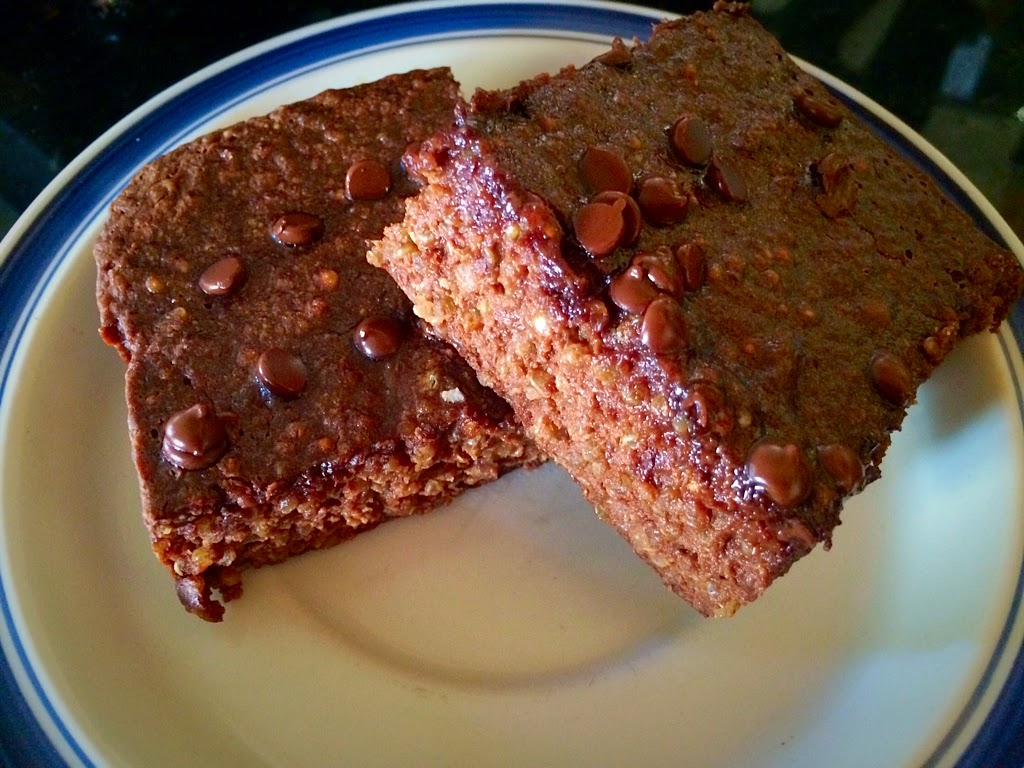 Running Girl Health and Fitness: Quinoa Brownies