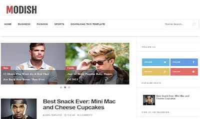 modish-blogger-template