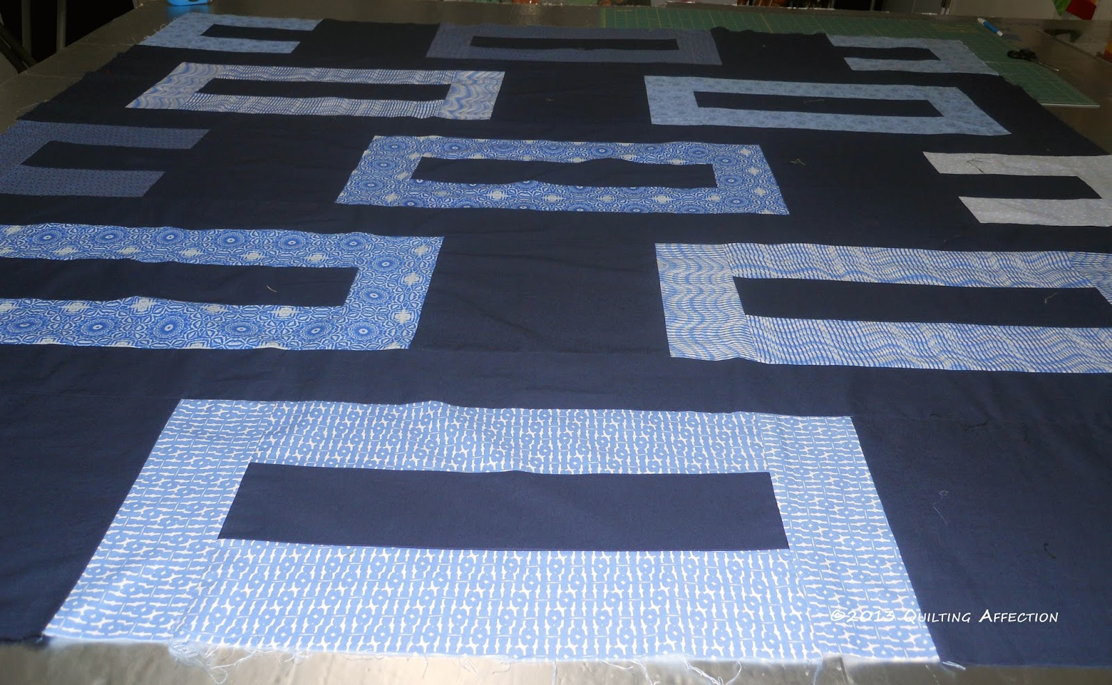 Quilting Affection Designs: Modern Quilt on the Longarm!