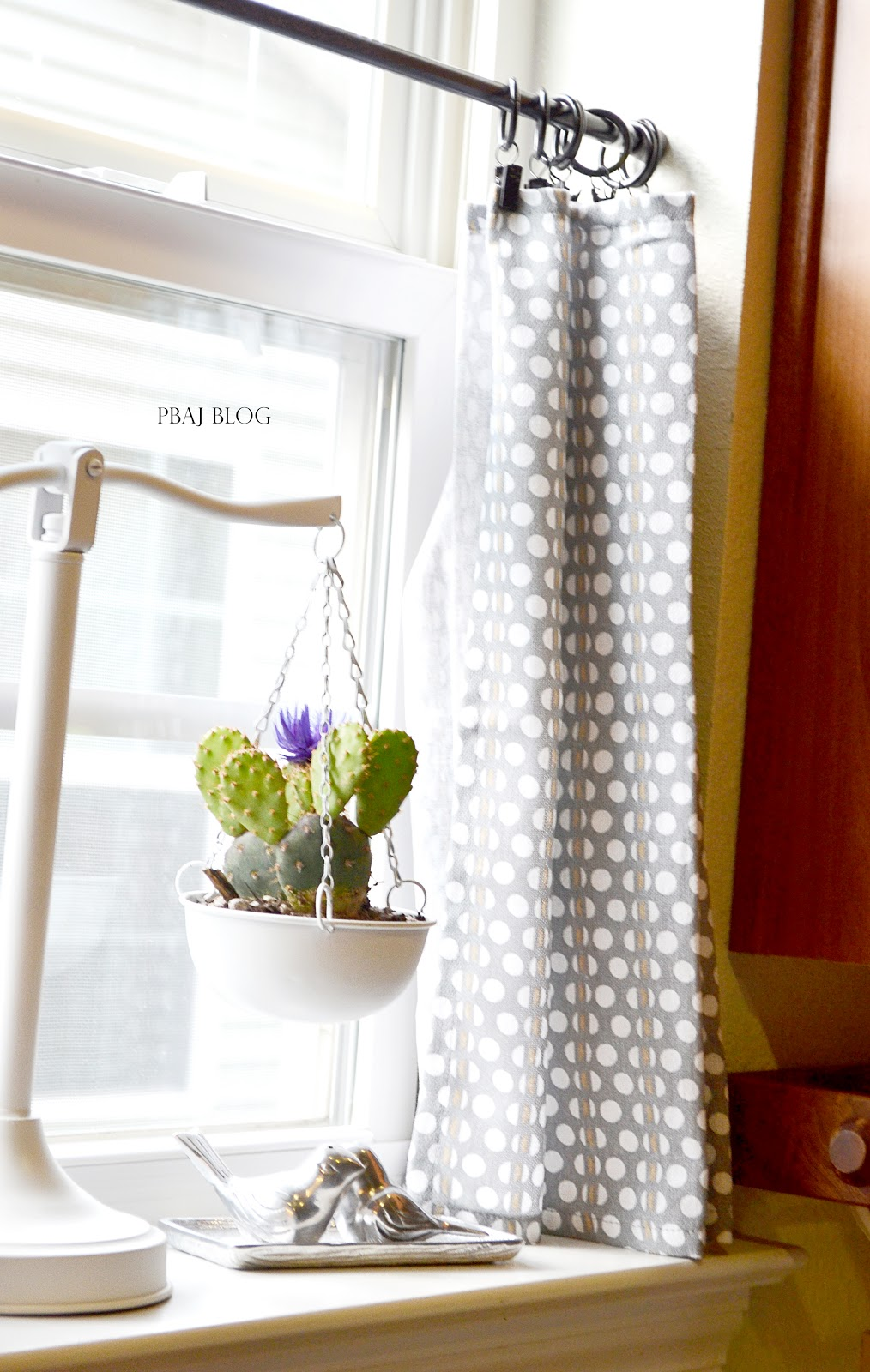 Pbaj Blog 2 1 Vintage Scale Makeover Easy Diy Kitchen Curtains
