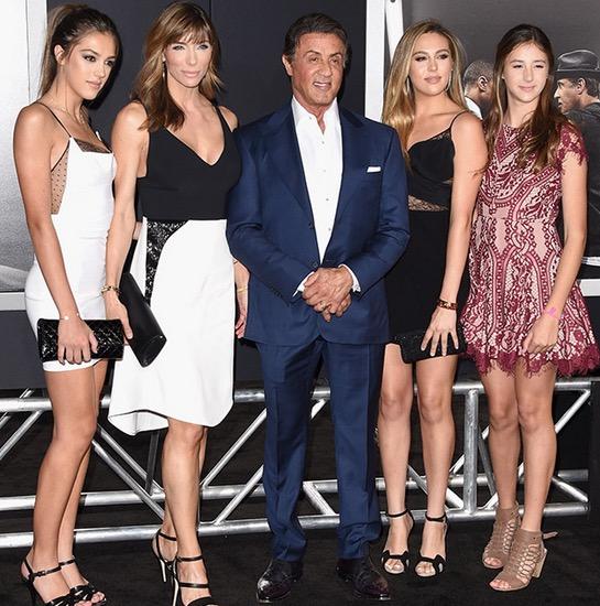 Tak Sangka Sylvester Stallone Ada 3 Anak Perempuan yang Cantik