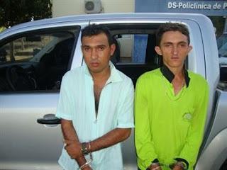 Presos em Pernambuco mais suspeitos de envolvimento em arrastão em Princesa Isabel