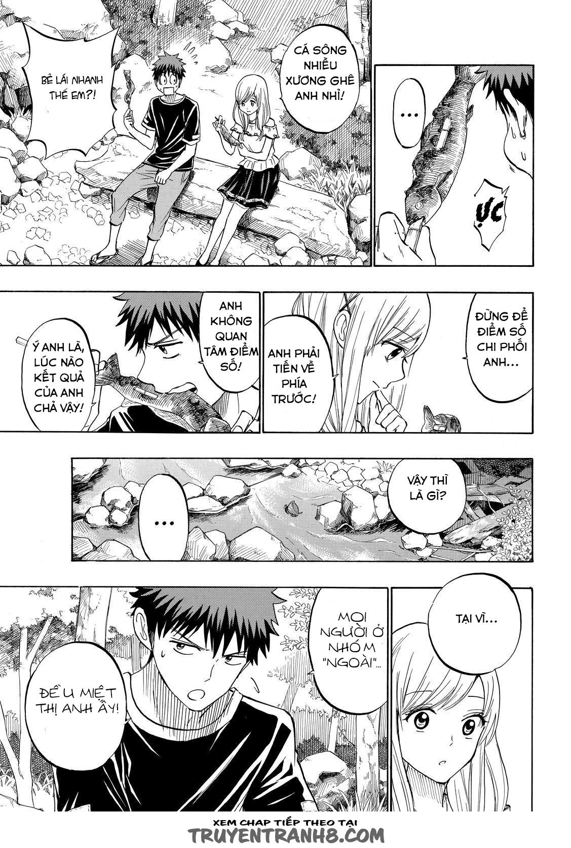 Yamada kun to 7 nin no Majo Chap 227 - Trang 15