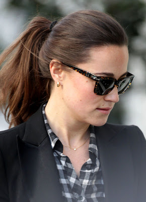 Pippa Middleton Ponytail Hairstyle