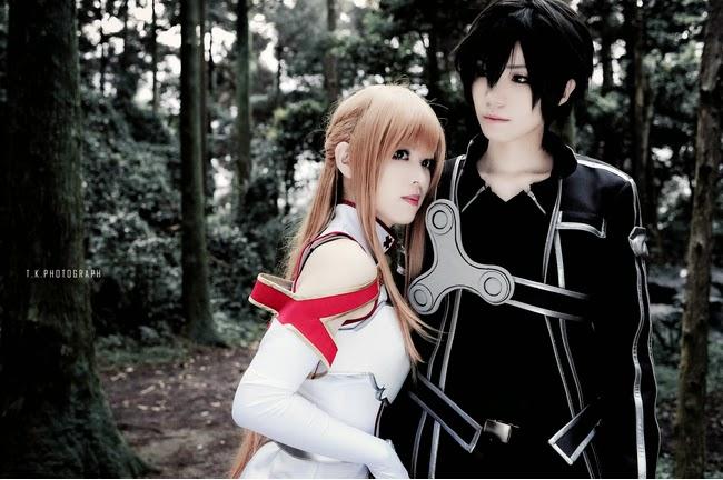 Pleasure of Cosplay : Sword Art Online Kirito and Asuna ...