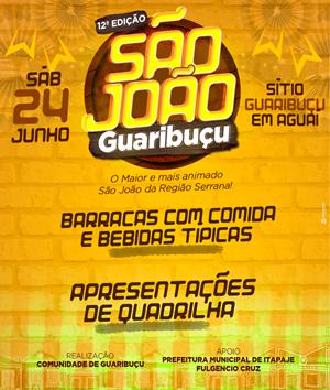 12º São João do Guaribuçu