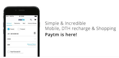 Paytm android app