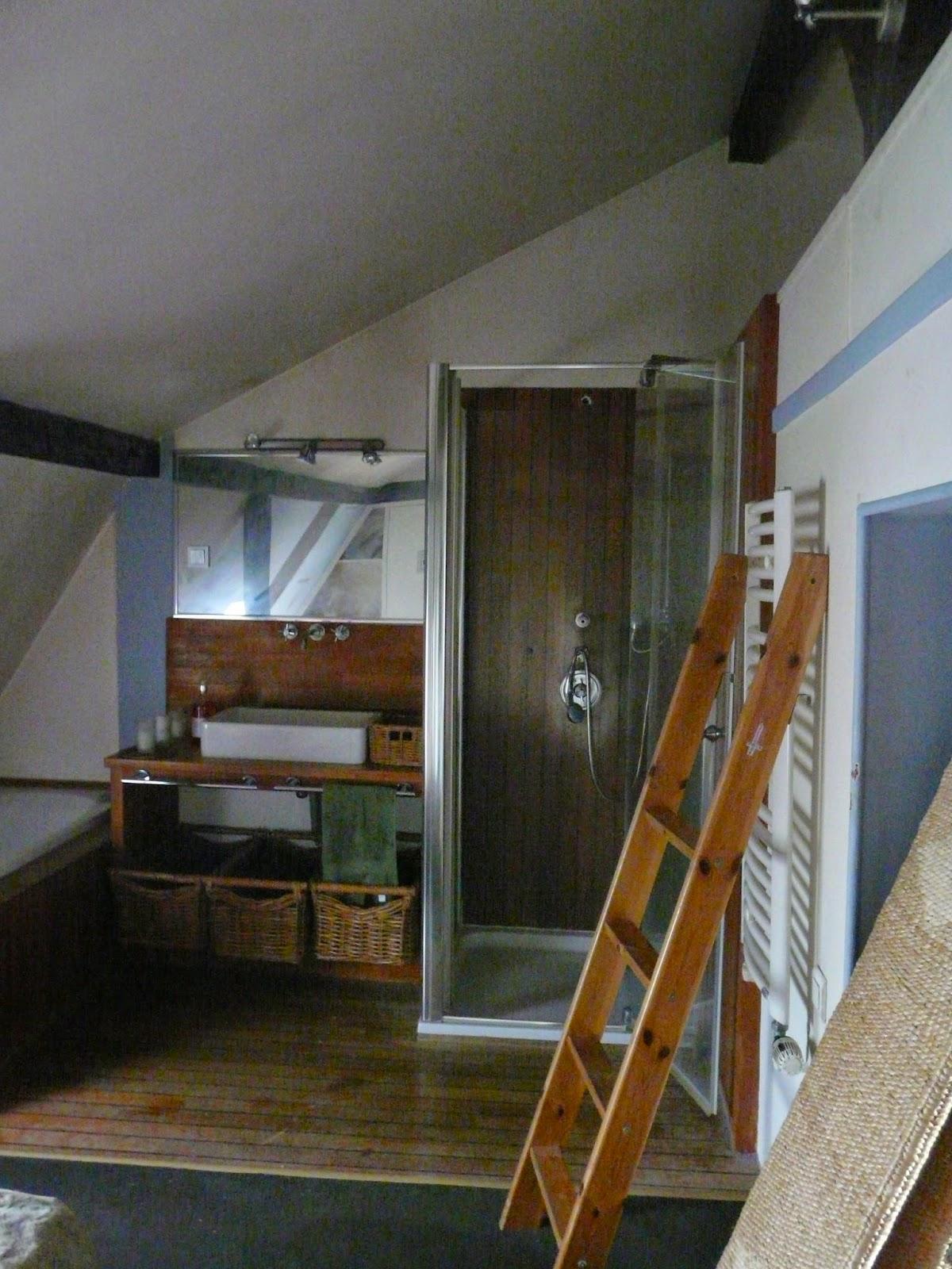 Anna grant s paration fa on atelier pour une salle de bain - Separation salle de bain ...