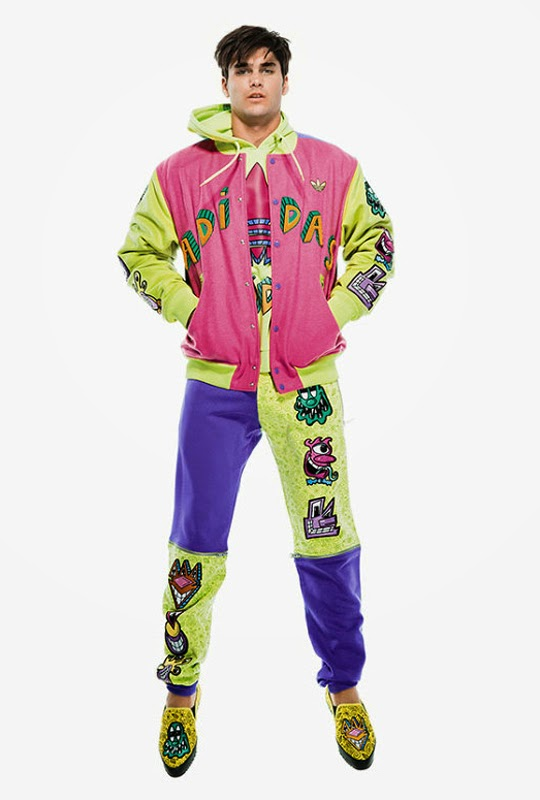 Jeremy Scott for Adidas Originals F/W 2014