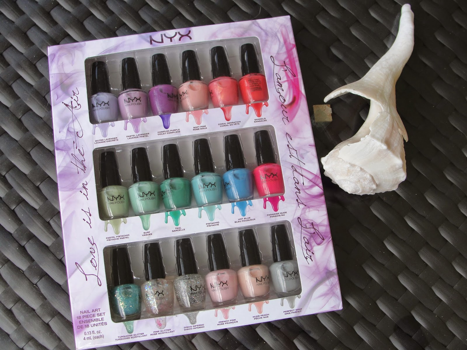 I Keep My Box As A Storage For These Cute Nail Polishes