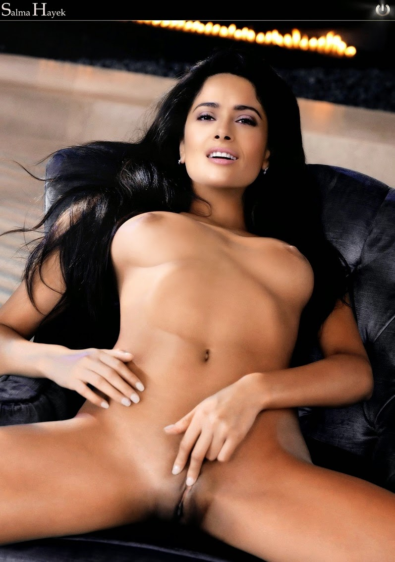 Nude salma hayek naked casually