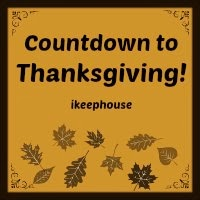 All Countdown to Thanksgiving Posts