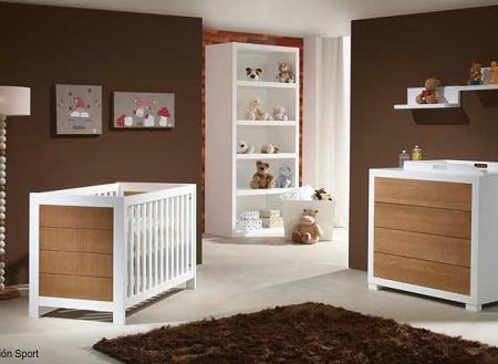 Cuna lacada clasica - Muebles habitacion ninos ...