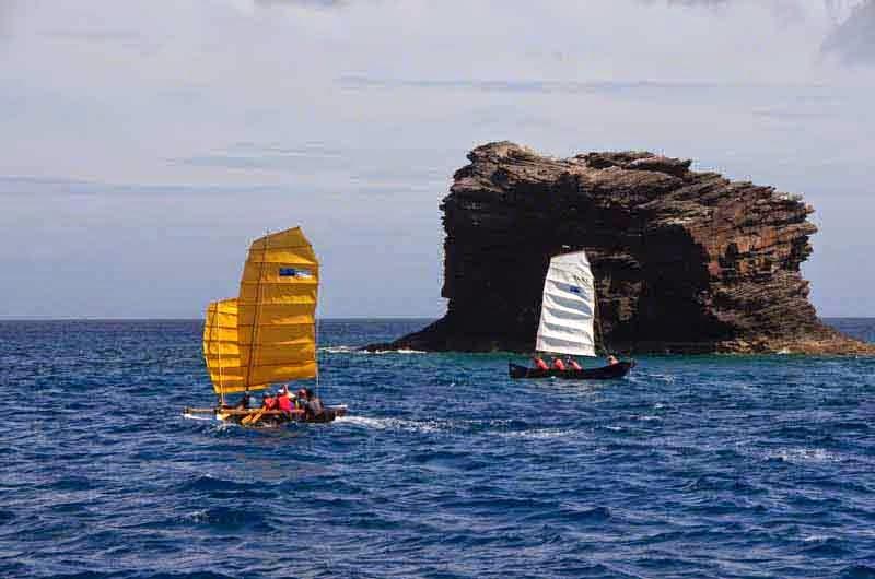 traditional sabani boats, sailing