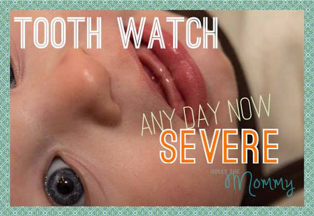 teething baby 6 months