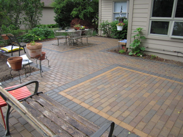 They Now Wanted A Style Of Brick Pavers That Was More Linear, Geometrical,  And Tighter Fitting, While Having Some Flexibility Of Being Creative.
