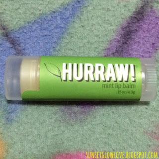 Hurraw lip balm in Mint
