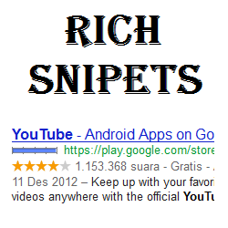 Rich Snipets