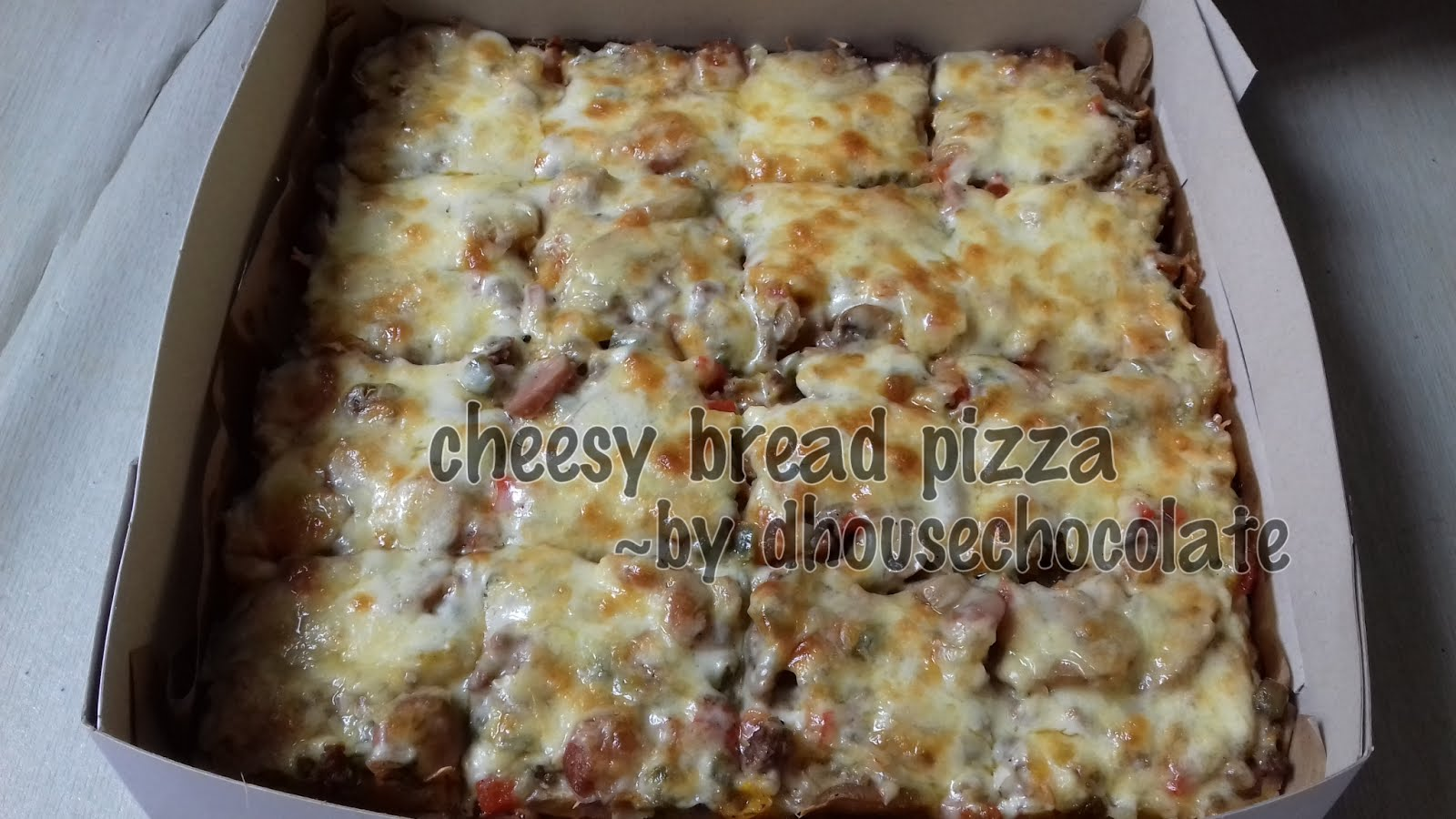 Cheezy Pizza Bread