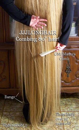 floor length blonde hair - photo #24
