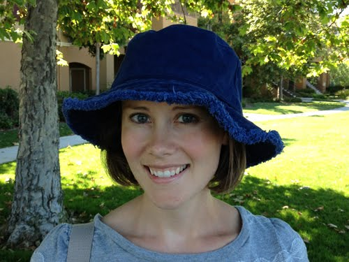 I found this hat at Eddie Bauer. I m a sucker for navy blue and I love the  fringe around the brim. d562894a84c