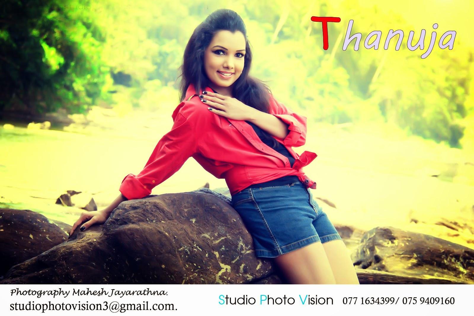 Thanuja Niroshani sexy shorts gal deka