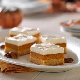 Maple Pumpkin Pie Bars