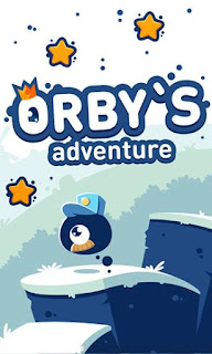 Screenshots of the Orby's adventure for Android tablet, phone.
