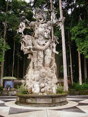 Statue Sangeh