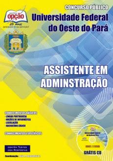 Apostila Preparatória Ufopa Assistente em Administração (Nível Médio)