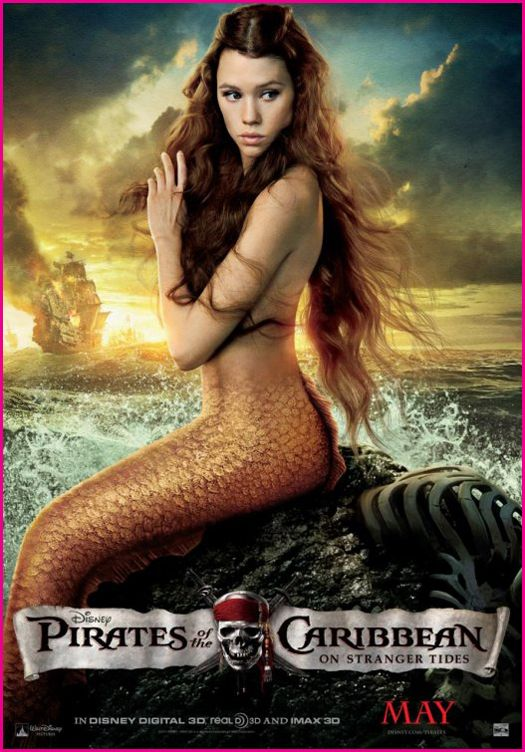 Pirates of the carribean mermaid