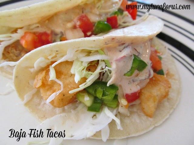 Baja fish tacos for Baja fish tacos