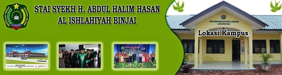 Sekolah Tinggi Agama Islam (STAI) Syekh H.Abdul Halim Hasan al Ishlahiyah Binjai (SHAHIB)