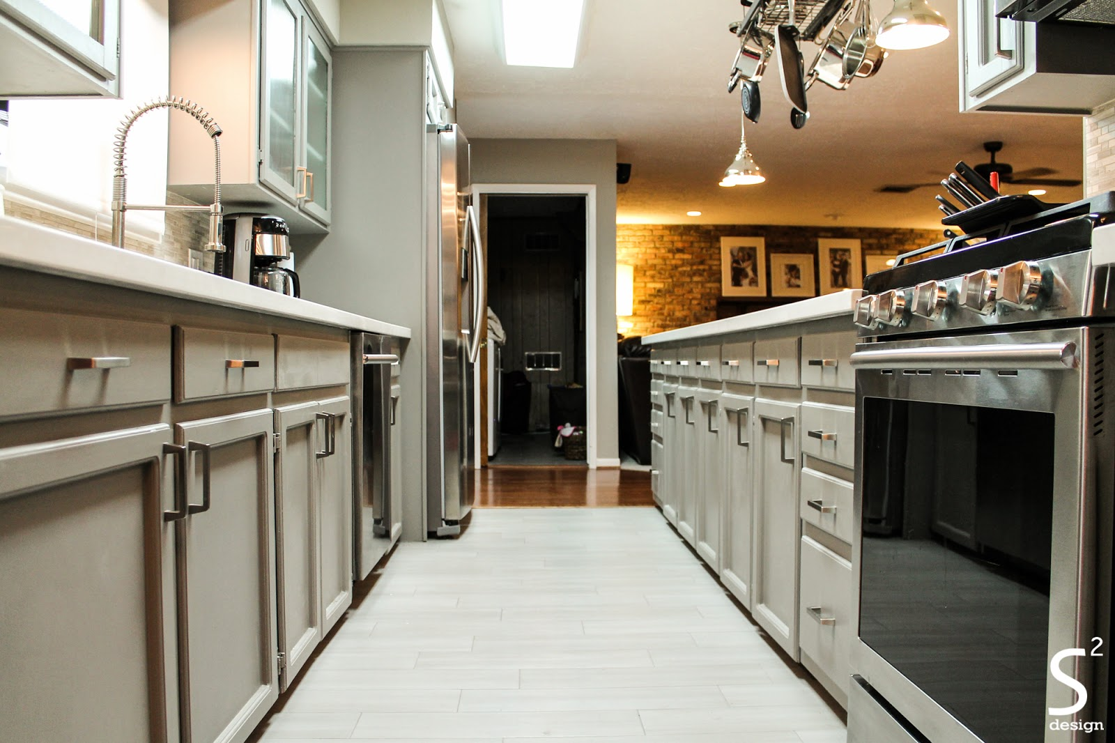 Best way to paint white kitchen cabinets with bar