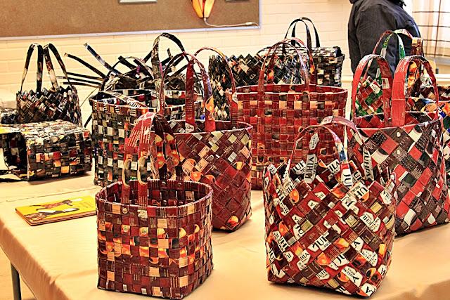 Fläta väskor av kaffepåsar : V?lkommen till nette cecilia fr?n medborgarinstitutets
