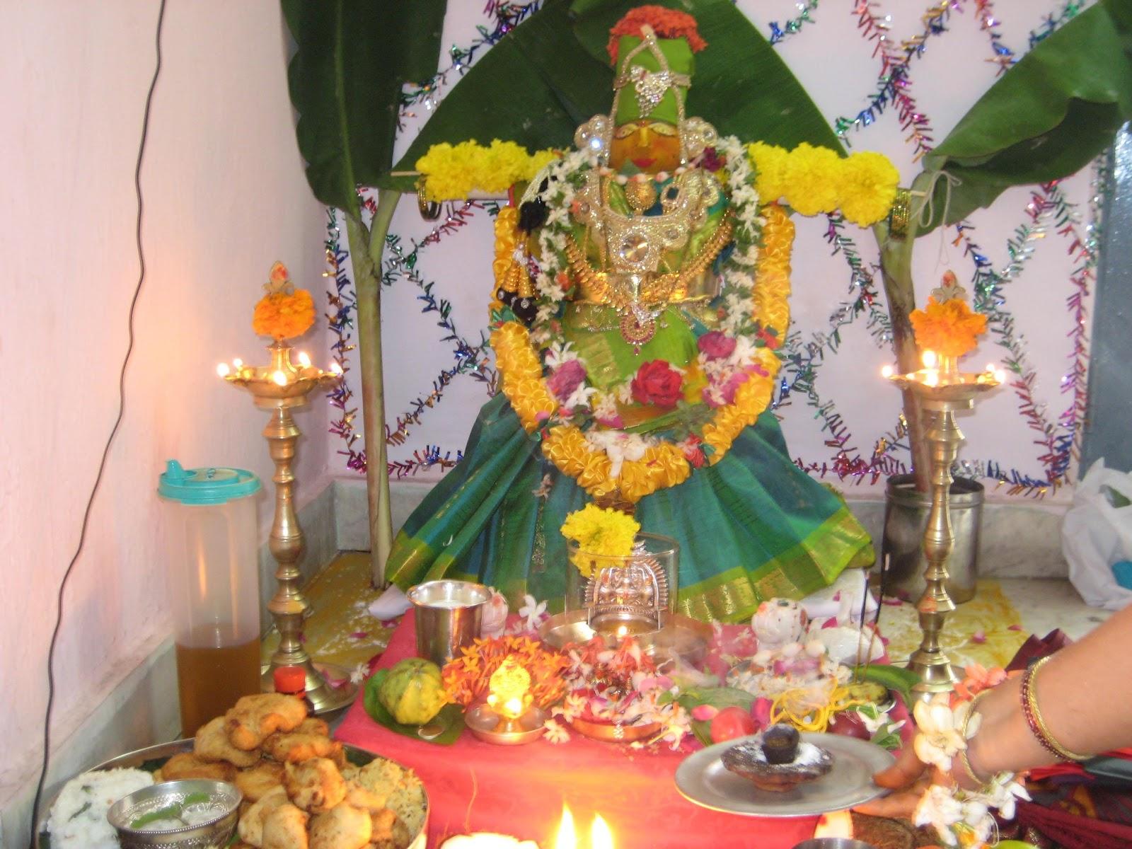 Craft Creations: Varalakshmi Pooja